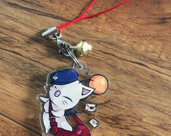 Delivery Moogle - Final Fantasy Phone Charm