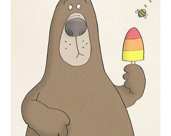 Summertime - Illustration Art Print