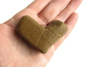 Heart Shaped River Stone - Valentines Day Little Gift