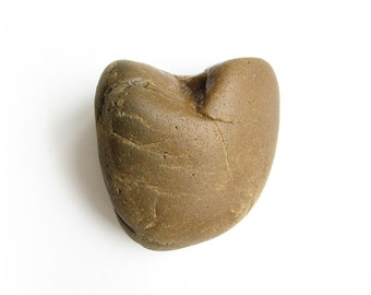 Heart Shaped Rock - Natural River Beach Stone - Love Pebble -Valentines Day Gift