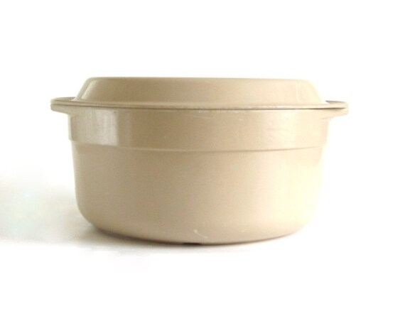 Anchor Hocking MicroWare Microwave 5 Qt Casserole Dish PM480-TI PM480 T1 Large Bowl Dutch Oven