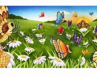 PRINT Butterfly Meadows
