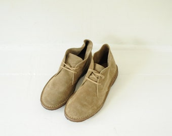 Vintage J Crew Suede Desert Boots mens 8 1/2
