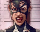 Marvel Comics Spider Girl Lineup May Mayday Parker Mugshot Illustration Jacob Sparks Poster Print Spidergirl - 3 Sizes Available