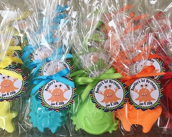 25 MONSTER SOAPS {Favors} - Birthday Soap Favors, Monster themed Party, Character Soap, Halloween Favors