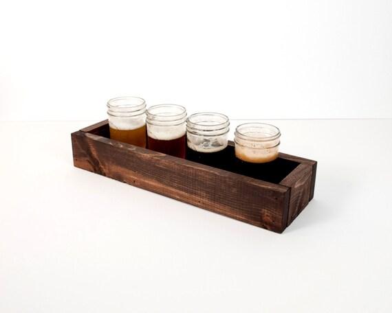 Tasting Tray Taster Board Beer Flight Sampler Tray Set of