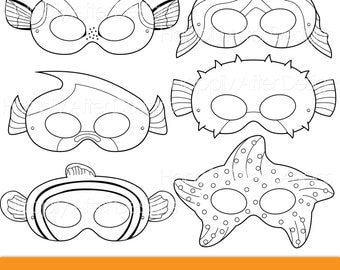 Insects Printable Coloring Masks Insect Masks Ladybug Mask