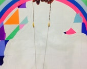 Neon tribe necklace