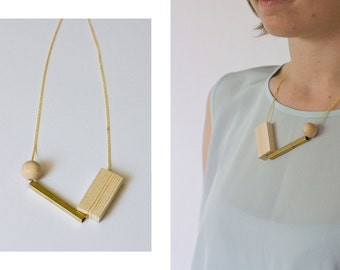 Necklace //  WOOD LOVE ONE //