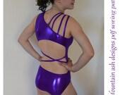 Leotards 10 pdf sewing pattern gymnastics gym ballet dance girls sizes 2-14