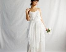Bohemian wedding dress,boho wedding dress,hippie wedding dress,Fairy dress,Silk wedding dress,wedding dress,alternative wedding dress