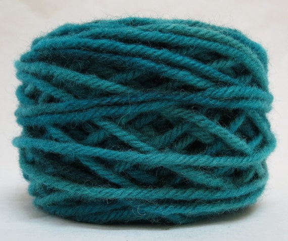 OCEAN , 100% Wool, 2 Ozs. 43 yards, 4-Ply, Bulky weight or 3-ply Worsted weight, already wound into cakes, ready to use. Made to order