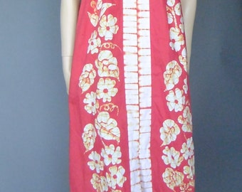 batik kaften caftan, red maxi dress, kaftan dress, caftan dress