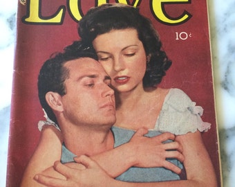 Young Love Comic Book Romantic Story Magazine