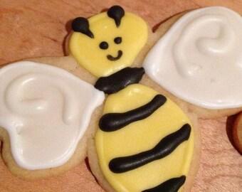 Bumble Bee Cookies ~ One Dozen