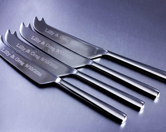 ENGRAVED CHEESE KNIFE for Lynne - Engraved New Stainless Steel cheese slicer, not hand stamped. New & just for you.