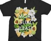 More Guac Please - Avocado Shirt - Fun T-Shirt - Guacamole T-Shirt - Funny T-Shirt - Food Shirt - Guac Shirt - Guacamole