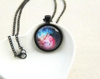 Galaxy Necklace, Nebula Necklace - Constellation, Trifid Nebula, M20 - Galaxy Series (G006)
