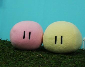 Dango Plush, Basic Dango Pillow, Clannad Dango, Mochi Plush, Clannad Cosplay - Hand-made - size SMALL