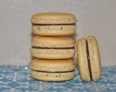 Macarons Gingerbread Spice  Ganache Almond French Macarons  Holiday Cookie Gift
