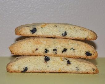 Biscotti Cookies Blueberry Lemon Italian Fresh  Holiday Edible Gift!