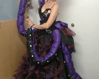 Custom Costume - The Sea Witch - Theatre Costumes - Dance Costumes - Ursula Costume