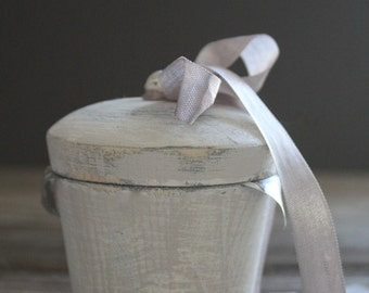 Wooden Dolly Laundry/Storage Bin