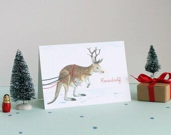 Roodolf Christmas Card