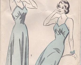 1940s Vintage Slip Pattern Advance 5014 Size 18
