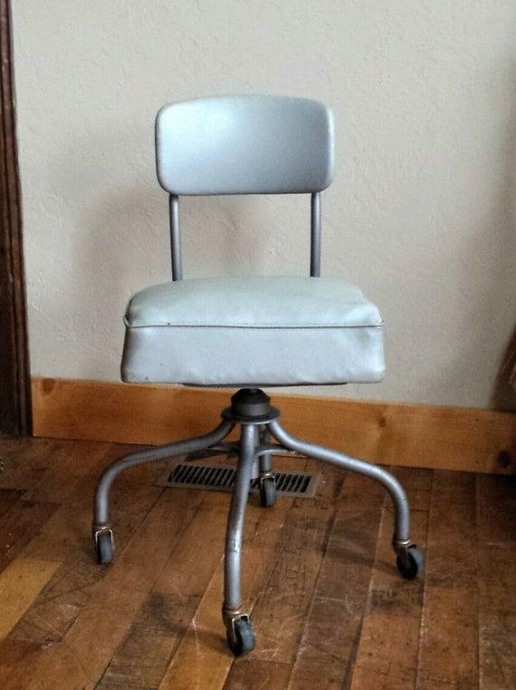 Vintage Office Chair Steelcase Swivel Desk 1950s