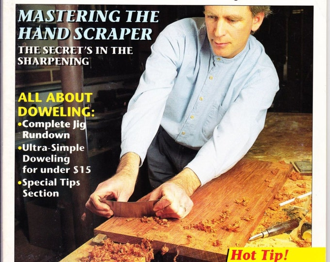 Vintage Woodworkers Journal, May-June 1993, Wood Crafting, Designs, Tips, Techniques, Yard Swing, Pocket Hole Cutter, DYI, How To