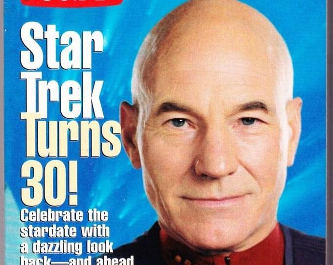 Vintage TV Guide, Star Trek, August 1996, Star Trek Turns 30 ,All 4 ,Different Cover, TV Guides ,Special Collectors, Celebrate Star Trek