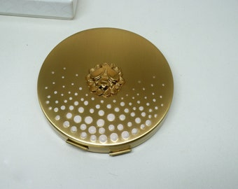 Vintage Yardley Honey Glow Powder Compact Unused