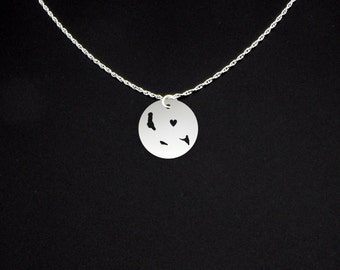Comoros Necklace - Comoros Jewelry - Comoros Gift
