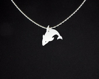 Killer Whale Necklace - Killer Whale Jewelry - Killer Whale Gift