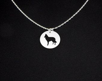 Belgian Shepherd Tervuren Necklace - Belgian Shepherd Jewelry - Belgian Shepherd Gift