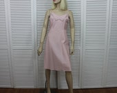 Vintage Barbizon Acetate Full Slip Pink Size 18 MISS (Medium/Large)