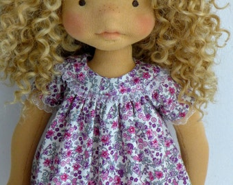 """RESERVED for RAIA  - RUBY   20"""" waldorf doll,art doll,natural"""