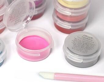 5 Piece Lipstick Sample Set with Optional Lip Applicators - choose your shades - Vegan Lipstick