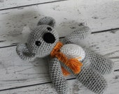 Kiwi the Koala, Crochet Koala Bear, Stuffed Animal, Koala Bear Amigurumi, Plush Animal, Ready to Ship