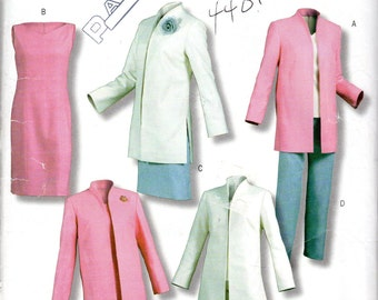 "Easy Women's Jacket, Top, Dress, Skirt & Pants Pattern- Size 6, 8, 10, 12; Bust 30 1/2"", 31 1/2"", 32 1/2"", 34"" - Butterick BP397 uncut"