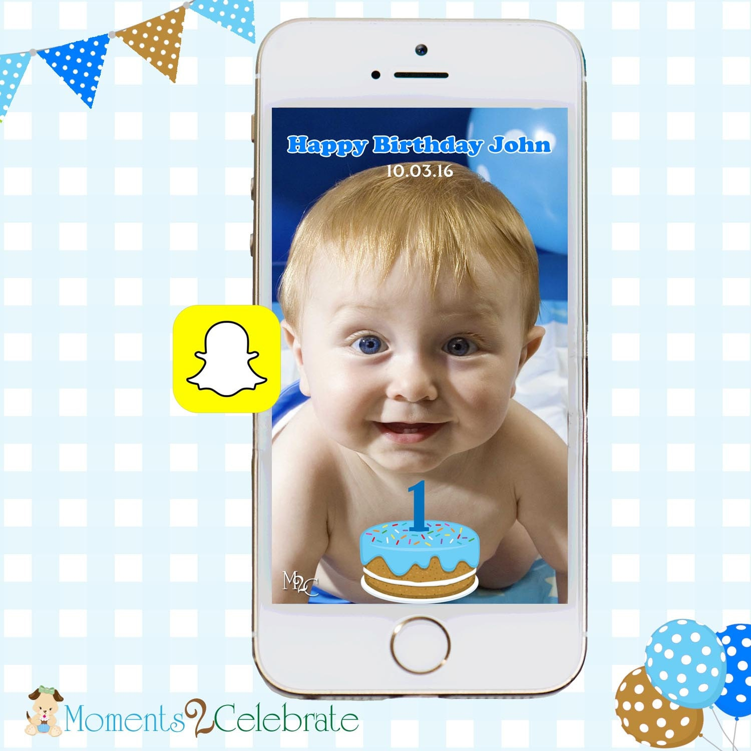 Snapchat GeoFilters Birthday Cake Snapchat Filters Party