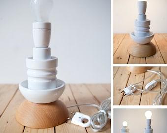 Stylish Table Lamp 'Elektra L' | Repurposed