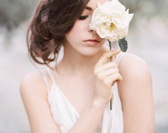 Forget Me Nots Crystal Flower Wedding Tiara #801TA