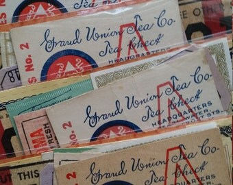 Antique and Vintage Coupon Collection | Assorted Vouchers | Advertising Lot