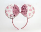 Princess Mouse Ears // Crown Mouse Ears // by Born Tutu Rock