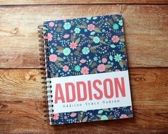 Baby Book - Personalized Baby Book - Modern Baby Book - Baby Album - Baby Journal - Baby Milestones - Prengnacy Journal
