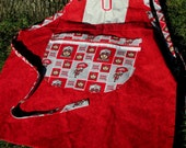 Ohio State Red and Gray Adult BBQ Apron by Cover Me Aprons