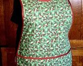 Rustic Cobbler Apron - Pine Green Cobbler - Plus Size