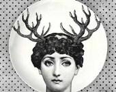 horn, Cavalieri melamine plate